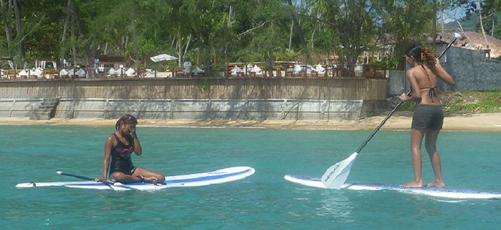 surf paddleboard in samui