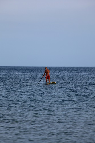 sup paddleboard in koh samui thailand