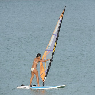 windsurf lessons and sup trip in koh samui